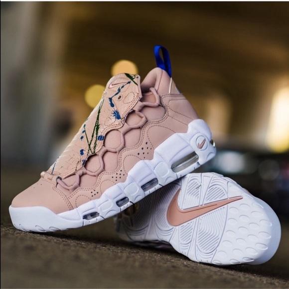 Nwob Nike Air More Money Particle Beige